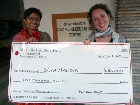 Rachel and Neelima of Seva Mandir